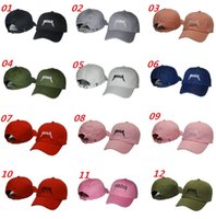 Wholesale 2016 New Black Yeezus Embroidered Glastonbury Unstructured Dad Cap Unreleased Kanye Hat Casquette Rose God Pray Ovo Rodeo Hat