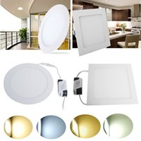 acrylic panels for bathroom walls - 10W15W18W Acrylic LED Recessed Down light Panel light Ceiling Wall Light AC V Cool White Warm White For Home Decor Light Spotlight