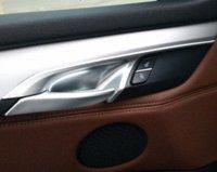 accessories door frames - Interior Accessories for BMW X5 X6 inside door handle bar wrist bowl decorative protective cover trim frame trim sticker