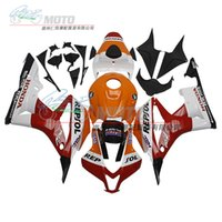 Wholesale 3 gifts New TOP Injection ABS motorcycle fairing kit Fit Guarantee For HONDA CBR600RR F5 Tank cover Cool style repsol
