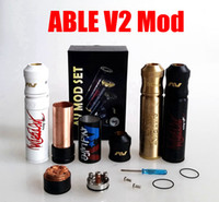 avid design - AV Able V2 Mod Kit clone AVID LIFE AV Torpedo Cap Combo RDA design from CLOUD CHASING ACADEMY for Battery rda