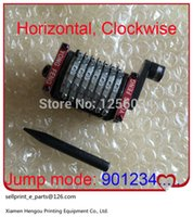 Wholesale 2 pieces digits GTO Numbering machine Horizontal Clockwise forward