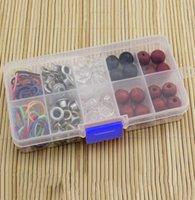 art hardware - Hot Sales PC Storage Box Cells Jewelry Nail Art Household Hardware Fitting Storage Case Box