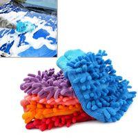 Wholesale Shipping Hot Super Mitt Microfiber Car Wash Washing Cleaning Gloves Car Washer EA10441