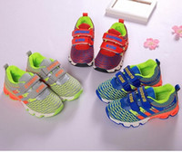 baby shocks shoes - Hot new autumn spring baby kids shoes Girls boys Sports running shock absorption function mesh shoes Lightweight Children outdoor