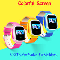 baby monitoring devices - Kid Smart Watch Wristwatch SOS Call GPS Location Q60 smartwatchs Device Tracker for Kid Safe Anti Lost Monitor Baby Gift