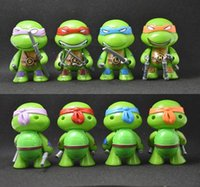 Wholesale Teenage Mutant Ninja Turtles Models with weapons cm Action TMNT Figure Toys Dolls Raphael TURTLES