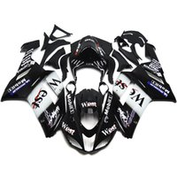 abs bodykit - Full Fairings For Kawasaki Ninja ZX6R ZX R Year Plastics ABS Motorcycle Fairing Kit Bodywork Bodykit Cowling West Black