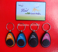 Wholesale RF Wireless Anti lost Alarm Electronic Key Finder The Keys Locator Set Transmitter Receivers sets Freeshipping