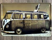 art moving boxes - The minivan moving on the way to surf Creative posters cm decorative sheet metal painting decorative crafts and gifts