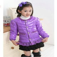authentic kids clothing - Kids Girls Down Down new pearl lace jacket authentic children s down clothing