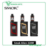 Wholesale SMOK Alien Starter Kit W ALIEN Box MOD ml TFV8 Baby Tank with ohm ohm Core Smok Alien Kit