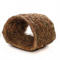 Wholesale Sundog Natural Rabbit Woven Grass Bedding Hideout Tunnel SD7018
