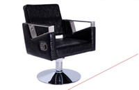 Wholesale High end styling cotton hair salons dedicated barber chair The hairdressing chair can lift can be put down