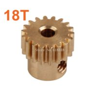 baja truck parts - 11120 Motor Gear T Metal Brass Pinion Copper HSP Parts For Electric Off Road Monster Truck Pro Hobby Baja Himoto