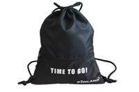 Wholesale Sunland Waterproof Drawstring Sackpack Backpack Gym bag Sports Bag Travel Bag Blue