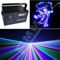 animation lasers stage - cheaper advertising laser RGB W full color animation laser W RGB DJ club light DMX beam animation stage light