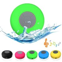 Cheap 2016 Portable Waterproof Wireless Bluetooth Speaker Shower Car Handsfree Receive Call mini Suction IPX4 speakers box player Mic Promotion