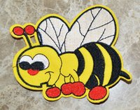 big bumble bee - HOT SALL BIG BEE BUMBLE BEE CARTOON punk Iron On Patches sew on patch Appliques Made of Cloth Quality