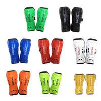 Wholesale 2 Leg Guard Children Adult Light Soft Soccer Football Shin Guard Shinpad Shinguards Sports Leg Protector