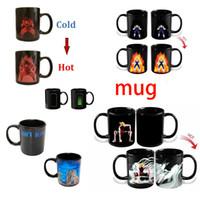 ball milk - Dragon Ball Z Mug SON Goku Mug One Piece Hot Color Changing Cups Heat Reactive Mugs Super Saiyan Cups Milk Coffee Mugs Taza Goku