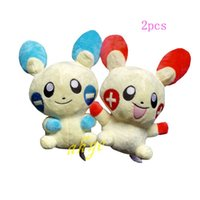 anodes and cathodes - Pocket Monster quot Pikachu anode and cathode rabbit couple plush doll Toy for Children s Gift High Quality