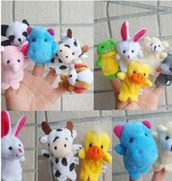 Wholesale Super cute finger puppets