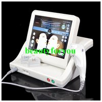 Wholesale 2016 Hot sale Anti Aging Wrinkle Removal Skin Tightening Facial Hifu Equipment High Intensity Focused Ultrasound HIFU Machine