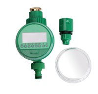 Wholesale SMILE MARKET Home Automatic Water Timers Garden Irrigation Solenoid valve Controllers With copper connection