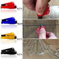 Wholesale New Car Auto Emergency Mini Safety Hammer Brand Car Window Breaker Cutter Escape Tool Emergency Escape Hammer