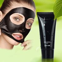 Wholesale HOT PILATEN Blackhead Remover Deep Cleansing Purifying Peel Acne Treatment Mud Black Mud Face Masks Peels High quality