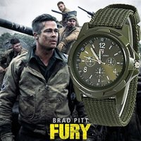 acrylic watch bands - 2016 Mens Nylon band Military watch Swiss Gemius Army watch High Quality Quartz Movement Men sports watch Casual wristwatches