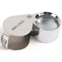 Wholesale Mini Pocket Magnifier Jewelers Diamond Eye Loupe Magnifying Glass