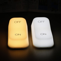 Wholesale On Off Switch Style Desk Lamp Gravity Sensor Keyboard Home Decorate Light Usb Table Night Lamp