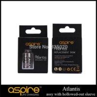 Original Aspire Atlantis Réservoir à manches courtes Atlantis Assy Remplacement à réservoir inox