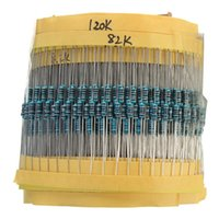 Nueva alta calidad de la llegada de la venta caliente del precio bajo de las PC 1460 de película metálica del resistor Pack Kit Surtido Mix 1 / 4W 1M 1R a 73 Valores
