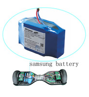 Wholesale 36V AH wh Self banlancing Scooter Battery with Orignal pm battery for Hoverbard Two wheels scooter