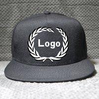 Wholesale snapback blank flat brim caps snapback custom snapback caps