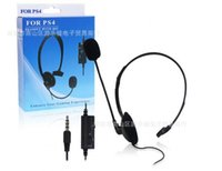 Wholesale 2016 New factory outlet PS4 PS4 small unilateral headsets PS4 gaming headphones Head mounted pair of headphones