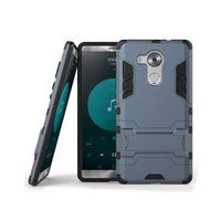 Wholesale Cheap Styling Products - For Huawei Mate8 Bracket Phone Case 2 In One Armor phone Case Shell Hot Sell Product High Quality Cheap Price 2016 New Style Case Hot Sell