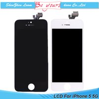 best repair - Mobile Phone Display For iPhone C S Lcd Display Touch Screen Digitizer Full Assembly Repair Parts Best Quality DHL