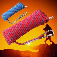 Wholesale climbing rope steady mountain climbing safety rope oudoor survival meter