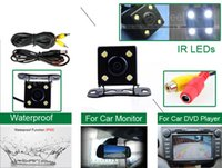 Wholesale A brand new Digital LCD waterproof nightvision rearview parking Auto IR IP68 car camera kit