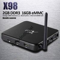 app store install - 2GB GB X98 Amlogic S905 TV Box with Kodi Google Play Store App Download Wifi G Bluetooth installed Ott TV Box vs T8 Pro TV Box