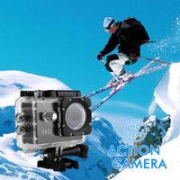 action shooting sports - Waterproof Helmet Sports DV Action Camera HD P Video Motion Recording Display Photo Camera Shooting