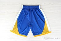 Wholesale drop shipping New Material Golden State Basketball Shorts Men Cheap Stephen Curry Shorts Basketball Shorts