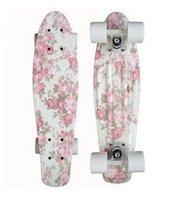 Wholesale quot Graphic series mini cruiser Skateboard complete single rocker longboard