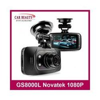 Wholesale car dvd Original GS8000L Car Camcorder Vehicle Camera Novatek inch Degree fps Car DVR HD P Vehicle Car Camera GS8000