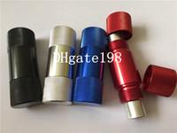 aluminum pipe supply - HORNET Aluminum Pollen Press Presser Compressor gas cracker cream whipper N20 opener we also supply grinder tobacco smoking pipes HG009