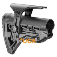 Wholesale SINAIRSOFT High Quality FAB Defense GL Shock Absorbing Buttstock w Adjustable Cheek Rest for M4 M16 AR15 Black